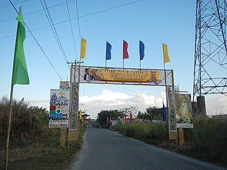 Bacolor, Pampanga - Welcome arch