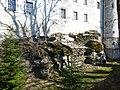 Bad Grönenbach Hohes Schloss Nagelfluhfelsen 01.JPG