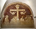 Badia a settimo, refettorio dell'abate, crocifissione di agnolo gaddi, 01.jpg