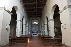 Badia a Settimo - The nave