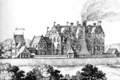 Badingen Castle Merian 1650.png