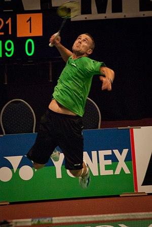Przemysław Wacha - Image: Badminton player 2011