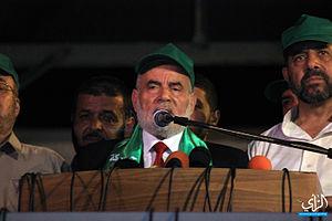 Ahmad Bahar (Palestinian politician) - Ahmad Bahar, 28 August 2014
