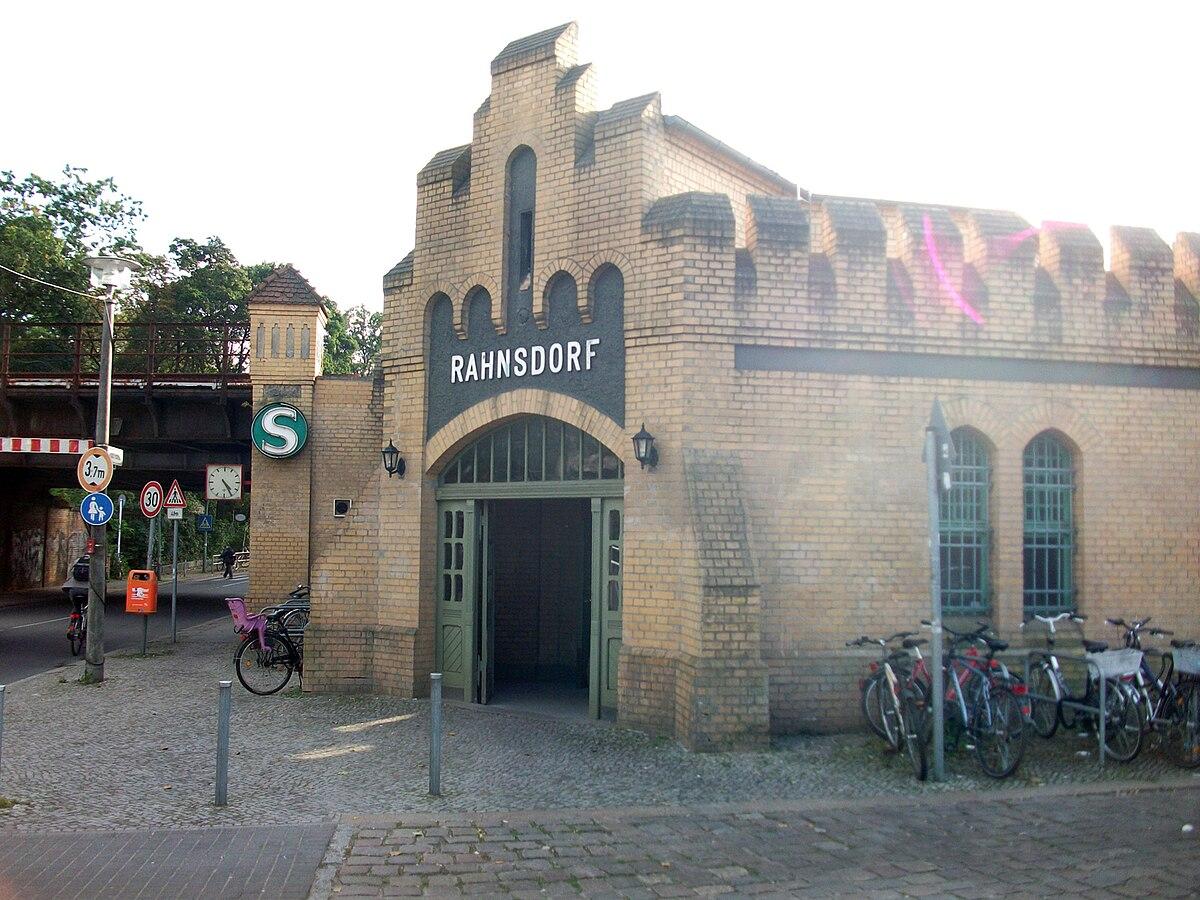 Ferienloft Berlin berlin rahnsdorf station wikidata