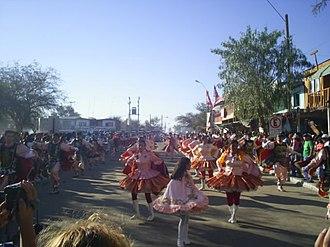 Tarapacá Region - Dancers in the Fiesta de La Tirana, the main religious festival in northern Chile