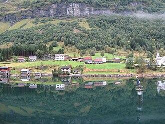 Bakka, Sogn og Fjordane - View from the fjord