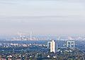 Ballonfahrt über Köln-Rodenkirchener Autobahnbrücke und Rheinland Raffinerie Godorf-RS-4138.jpg