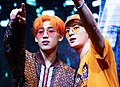 BamBam and Jackson Wang at a fansigning event in Yeouido, 22 June 2019 01.jpg