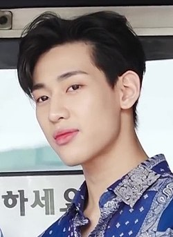 "BamBam outside ""Hello Counselor"" studios in Yeongdeungpo-gu, Seoul, 12 May 2019 03.jpg"
