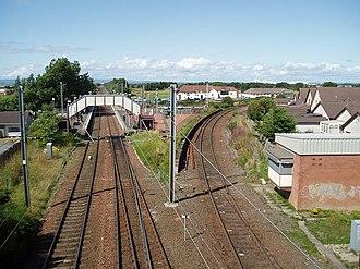 Barassie railway station - Image: Barassie railway station in 2009