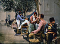 Barbers near Seraskerat, Constantinople, Turkey, ca. 1895.jpg