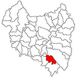 Vị trí của Valea Mare