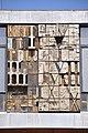 Barcelona. University of Barcelona, faculty of Law.Tables of the Law (1958). Josep Maria Subirachs, sculptor. Antoni Cumella, ceramist. (14774820438).jpg