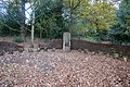 Bardic chair in sheltered storytelling circle, Holywells Park, Ipswich.jpg