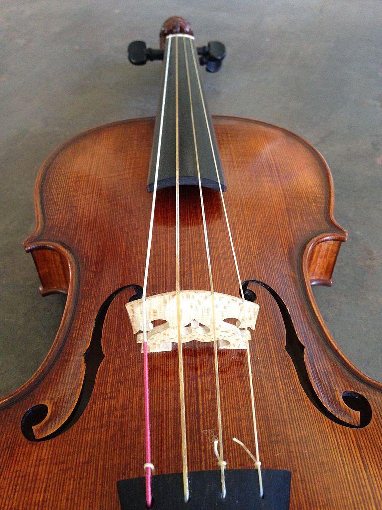 File:Baroque violin Walter Mahr, 2010 - Gut strings.jpg ...