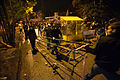 Barricade construction during night-time protests in Ankara. Events of June 7-8, 2013.jpg