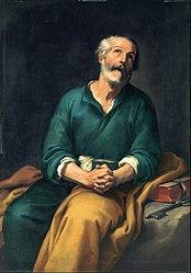 Bartolomé Esteban Murillo: Saint Peter in Tears