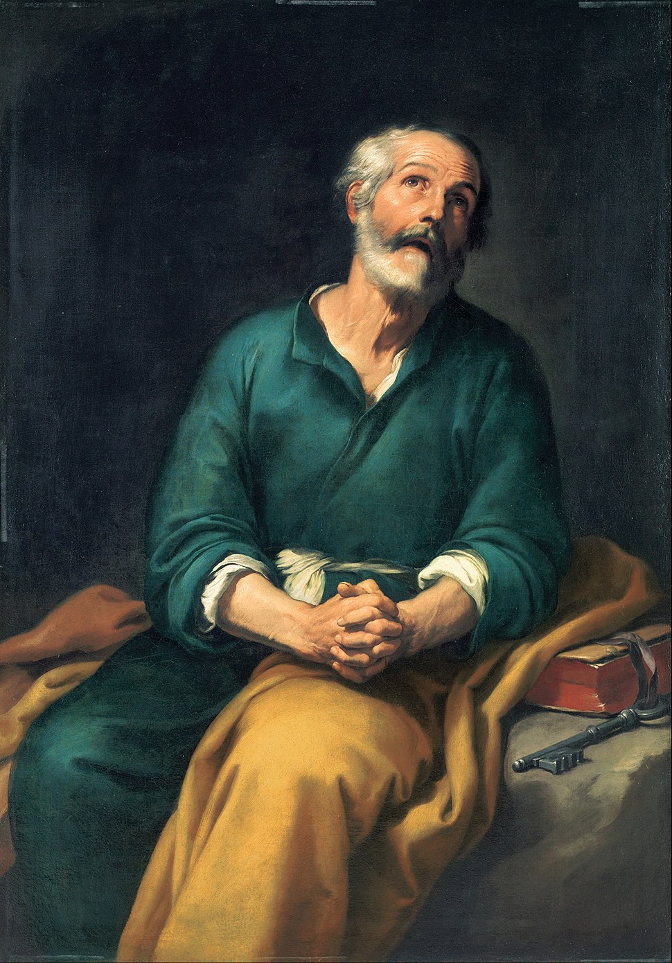 Bartolomé Esteban Murillo - Saint Peter in Tears - Google Art Project