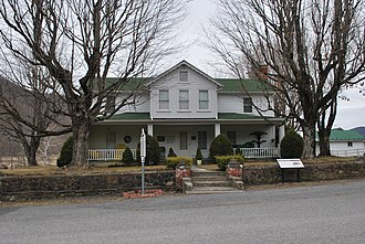 National Register of Historic Places listings in Pocahontas County, West Virginia - Image: Bartow WV Travellers Repose