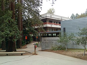 University of California, Santa Cruz - Approaching Baskin Engineering from McLaughlin Drive