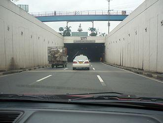 Batasan Road - Batasan Tunnel