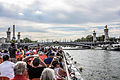 Bateau Mouche and Pont Alexandre-III, Paris 17 August 2013.jpg