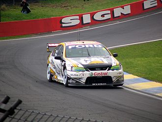 Jason Bright - The Ford Performance Racing entered Ford BA Falcon of Jason Bright and David Brabham at the 2005 Super Cheap Auto 1000