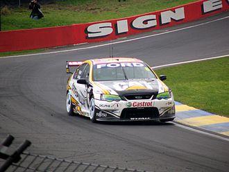 2005 V8 Supercar Championship Series - Jason Bright (Ford BA Falcon) placed ninth in the championship