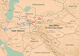 Yelü Dashi - Battle of Qatwan in 1141