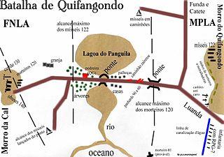 Battle of Quifangondo Battle of the angolan civil war
