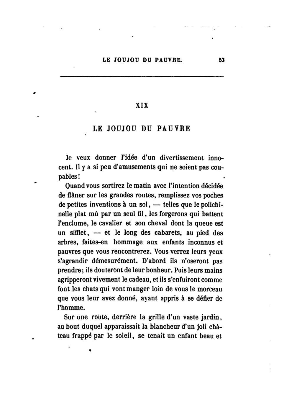 Page Baudelaire Petits Po 232 Mes En Prose 1868 Djvu 61 Wikisource