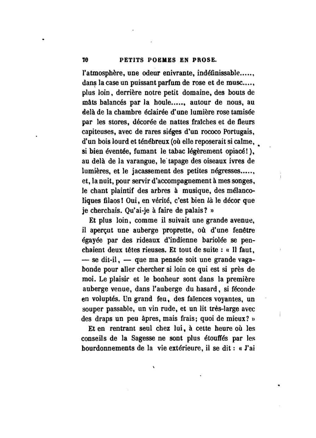 Pagebaudelaire Petits Poèmes En Prose 1868djvu78