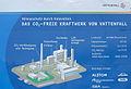 Baustellenschild CO²-Freies Vattenfall Kraftwerk in Schwarze Pumpe.jpg