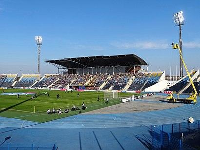 Come arrivare a Stadion Zawisza Bydgoszcz con i mezzi pubblici - Informazioni sul luogo