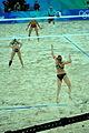 Beach volley at the Beijing Olympics - China v. USA (2).jpg