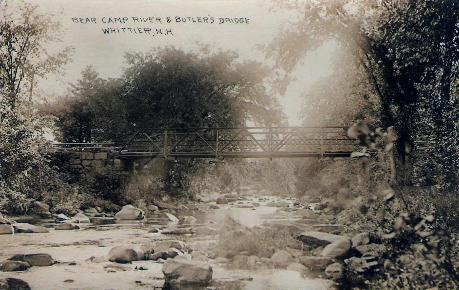 Bearcamp River & Butler's Bridge, Whittier, NH