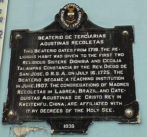 Beaterio de Terciarias Agustinas Recoletas