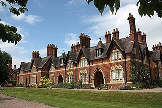 Newland, Worcestershire - Image: Beauchamp Community Alms Houses 1864, Newland