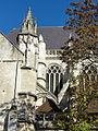 Beauvais (60), église Saint-Étienne, chœur, parties hautes.JPG