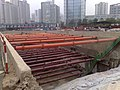 Beijing Subway line 15 under construction near future Wangjing station.jpg