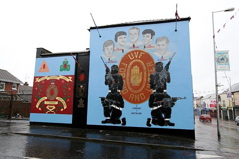 Geschichtsblog irische geschichte teil 7 the troubles for Mural in belfast