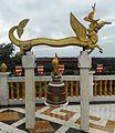 Bell at golden temple, bandarban.jpg