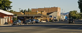 Bellevue, Idaho - Central Bellevue in 2010
