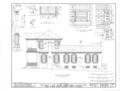 Belmont, U.S. Highway 43, Spring Valley, Colbert County, AL HABS ALA,17-SPRIVA.V,1- (sheet 8 of 13).png