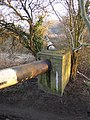 Bend in the pipeline, Otley - geograph.org.uk - 696377.jpg