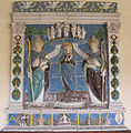 Benedetto buglioni (attr.), immacolata concezione in gloria e santi, da s. maria a ripa.JPG
