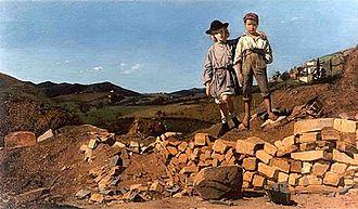 Jane Benham Hay - Jane Benham Hay, England and Italy, oil on canvas, 1859