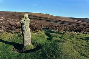 Dartmoor crosses - Bennett's Cross