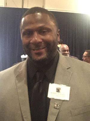 Bennie Blades - Bennie Blades honored GridIron Greats Hall of Fame Sept. 2015