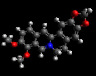 Berberine - Image: Berberine 3D